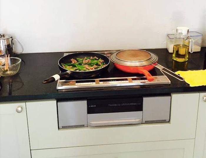 Bếp từ Panasonic kết hợp lò nướng tiện dụng
