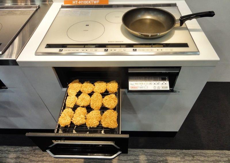 lò nướng hitachi