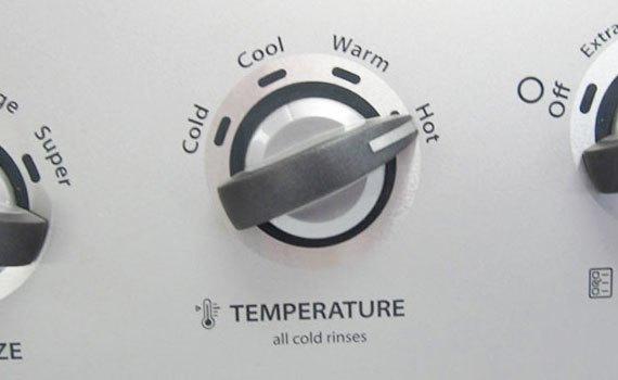 sử dụng máy giặt cửa trước