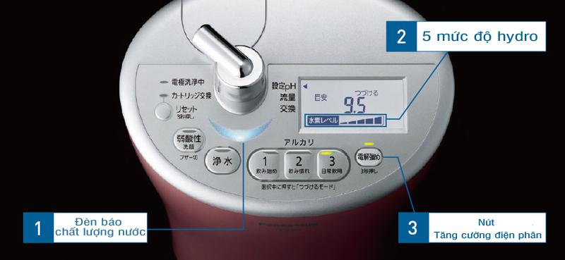 Máy lọc nước tạo kiềm Panasonic TK-AS44
