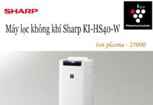 Vì sao Sharp KI-HS40 là chiếc lọc không khí đáng mua