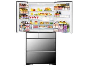 Tủ lạnh Hitachi R-WX74K